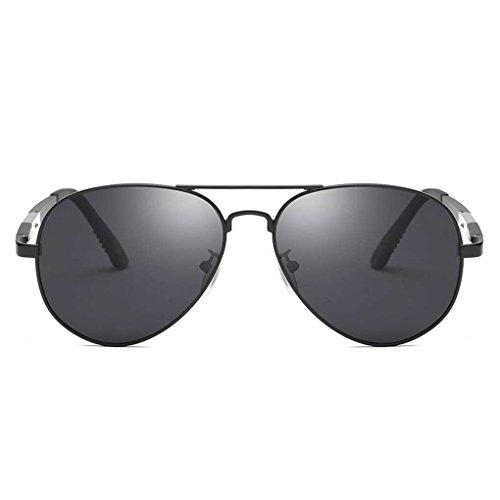 Meisijia Coolsir Mode Metallrahmen Männer Pilot Sonnenbrille Junge Gläser Eyewear polarisiertem Licht Double Color Sun Glasses