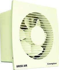 Crompton Brisk Air 250mm Exhaust Fan (White) Online at Low Price in India