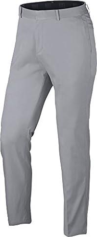 Nike Flat Front Pantalon Long de golf, homme, Homme, Flat Front, gris (012)