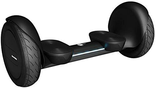 """Wheelheels Balance Scooter, Hoverboard \'Alpha\' - 10\"""" Luftreifen, Wasserdicht, Aluminiumkarosserie (Schwarz)"""