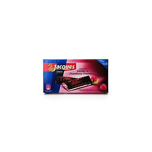 Jacques - Tablette Vanille-Framboise 200 Gr
