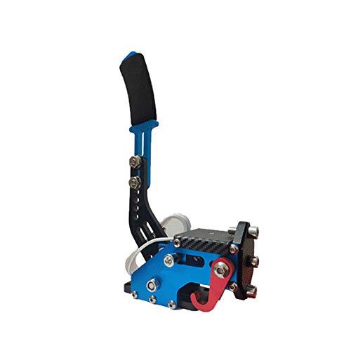 USB Freno a Mano,PC Giochi da Corsa Handbrake Con morsetto 14Bit Universal regolabile Drift di altezza professionale Periferiche per G25 G27 G29 T500 T300(Blu)