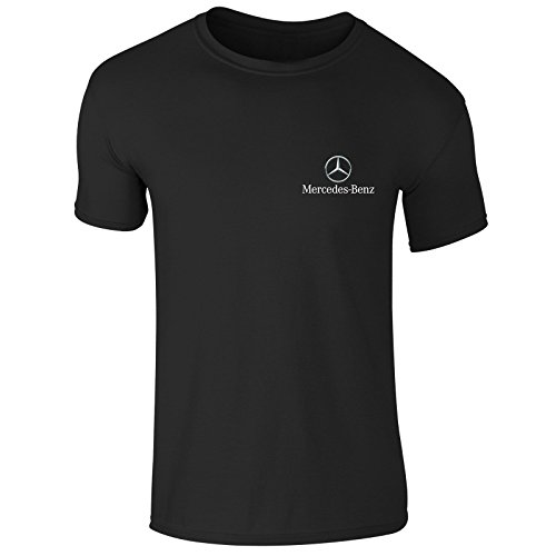 Preisvergleich Produktbild New Mens Mercedes Benz German Car Logo Emblem Moter Sports Club T Shirt Top S-XXL (XX-Large) Black