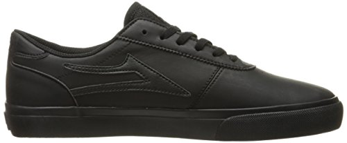 Chaussure Lakai Manchester Port Suede Black/Black synthetic