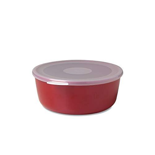 Mepal 102761075900 Schale mit Deckel volumia 1 L, Plastik, Lunar Rot