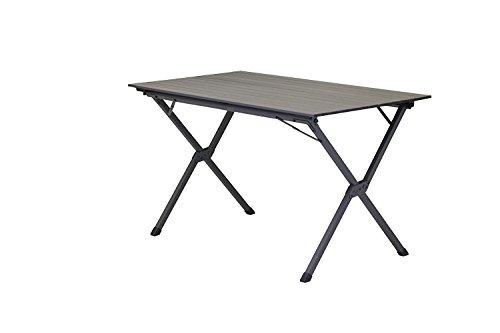 Portail extérieur Unisexe Hawaii Table de Camping Pliable, Gris, 120 x 70 x 70 cm