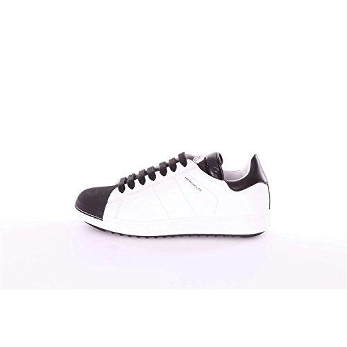 Moncler B209A101540001678 Sneakers Uomo Bianco e nero