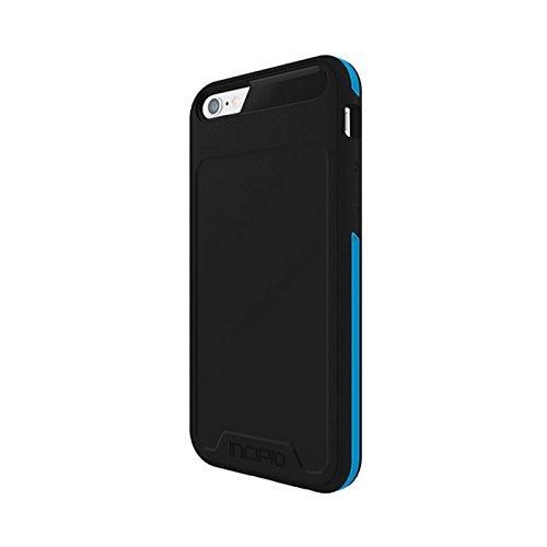 Incipio Performance Series Schutzhülle [Level 3] für Apple iPhone 6 / 6S in schwarz/cyan [Military Drop Tested | Schlankes Design | 3-fachen Schutz | Integrierter Schutzbumber] - IPH-1356-BKCN