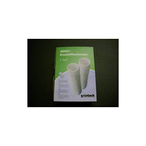 """Preisvergleich Produktbild Grünbeck Ersatzfilter für Wasserfilter FS 1"""" 2er Pack (50 µm ohne Schutzglocke) *** (Filterhülse Vlies Filter Feinfilter Hauswasserfilter Kerzenfilter Ersatzkerzenfilter Filterkerze)"""