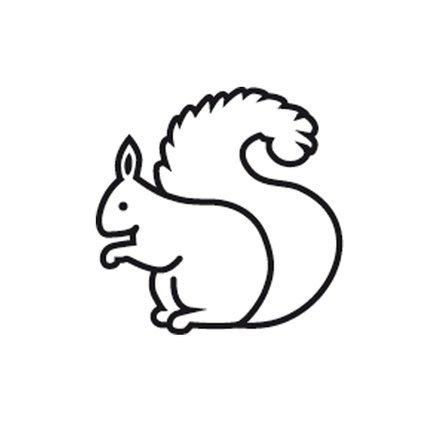 Stempel Mini Eichhörnchen - Eichhörnchen