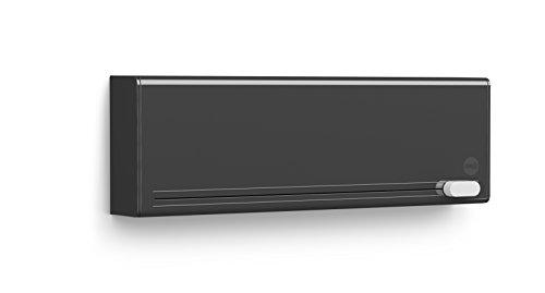 Emsa 515232 Folienschneider für 2 Folien, Wandmontage ohne Bohren, Anthrazit, Smart