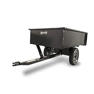 Agri-Fab AG45-0101 750lb Steel Utility Tipping Trailer - Black
