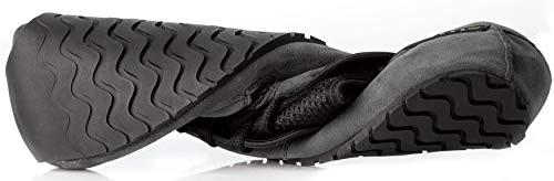 Magical Shoes Explorer Vegan Barfußschuhe | Damen | Herren | Jugendliche | Laufschuhe | Zero Drop | Flexibel | Rutschfest, Größen:44/282mm, Farbe:MS Explorer Vegan - Grau/Schwarz - 5