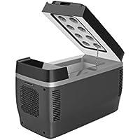 CLING Refrigerador del Refrigerador del Automóvil Pequeño Automóvil Hogar Doble Uso Estudiante Mini Refrigeración Individual Caja Fría Y Caliente