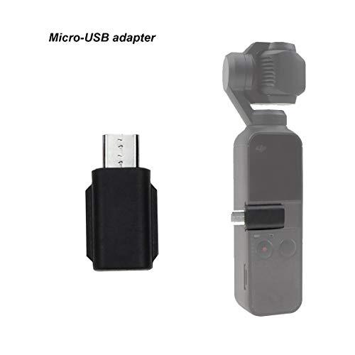 Micro-usb-anschluss (Tineer Universal-Smartphone-Adapter, Typ C, Micro-USB-Anschluss, kompatibel mit DJI OSMO Pocket Handheld-Gimbal-Zubehör (Micro-USB-Adapter))