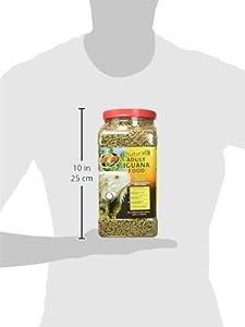 Zoo Med Natural Iguana Food Adult Food Pellets for Iguanas