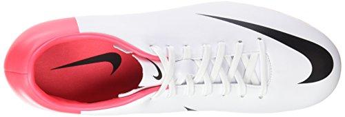Nike - Wmns Roshe One Suede, Sneaker Uomo Blanco / Negro / Rojo