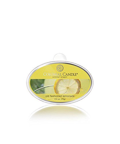 Lemonade Jar (Colonial Candle Simmer Snap Old Fashioned Lemonade - 2.4 oz (70g))
