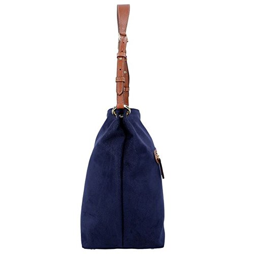 Bric's Life Sacca Shopper Tasche 31 cm Blau