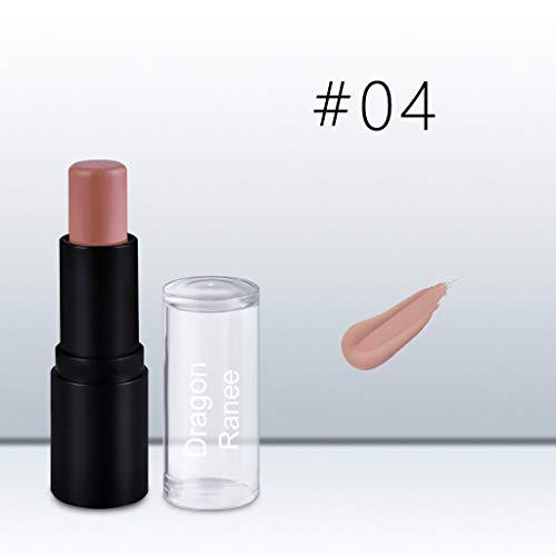 (Mitlfuny Puff Nailart Lippenstift Lidschatten Beauty Tools Concealer,Frauen Highlight Contour Stick Beauty Makeup Gesichtspuder Creme Schimmer Concealer)