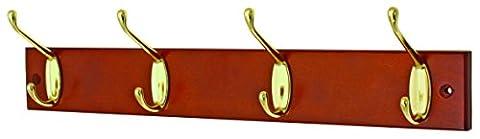 Headbourne hr0079h Türgarderobe Chrom mit Fixer 4Haken Doppel