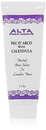 Alta Health Pau D'arco Skin Salve Lanolin, 1 Ounce by Alta Health (English Manual)