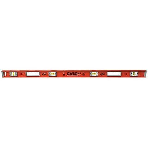 Johnson Level & Tool 1254-2400 Heavy Duty Magnetic Aluminum Level, 24