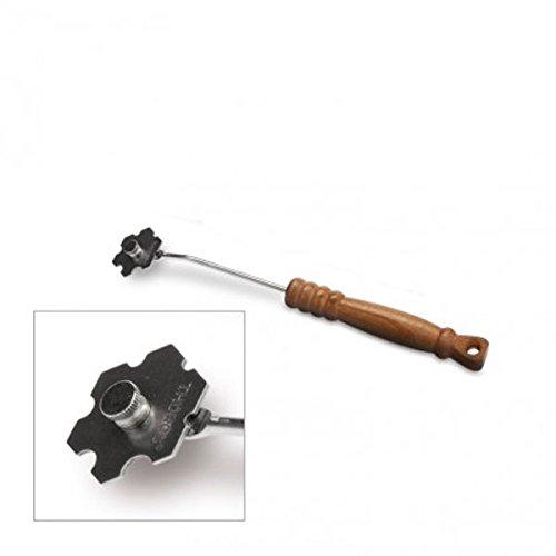 Thüros® Reinigungswerkzeug Grillreinigung EdelstahlSchaberkopf