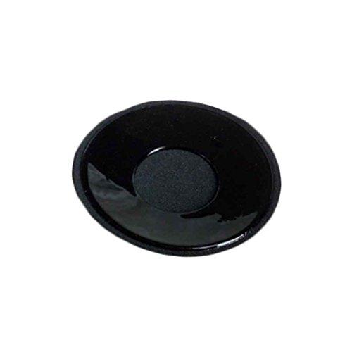 Babysbreath Rilievo reggiseno autoadesivo della cassa del rilievo del capezzolo del reggiseno del seno 1Pair riutilizzabile Carnagione del fiore di prugna 8cm Rotondo nero