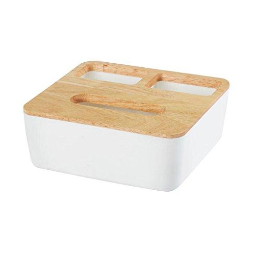 Homyl Tissue Box Holz Papier Halter für Haus Deko - Platz 2
