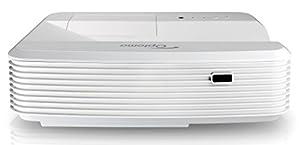 Optoma GT5000+ DLP-Projektor (Beamer, 1920 x 1080 Pixel, 3200 ANSI Lumen, HDMI, VGA) schwarz/weiß