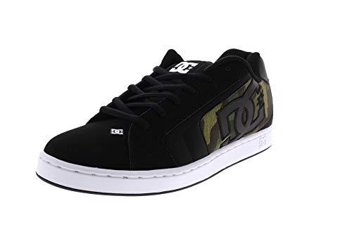 DC Shoes Herren Net Se - Low-top Shoes for Men Skateboardschuhe, Black/camo Print, 50 EU