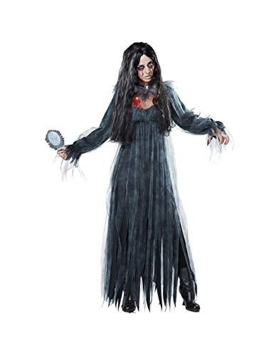 Halloween Friedhof Zombie Braut Kostüm Scary Ghost Spooky Kostüm für Erwachsene Frauen Größe (Spooky Ghost Kostüm)