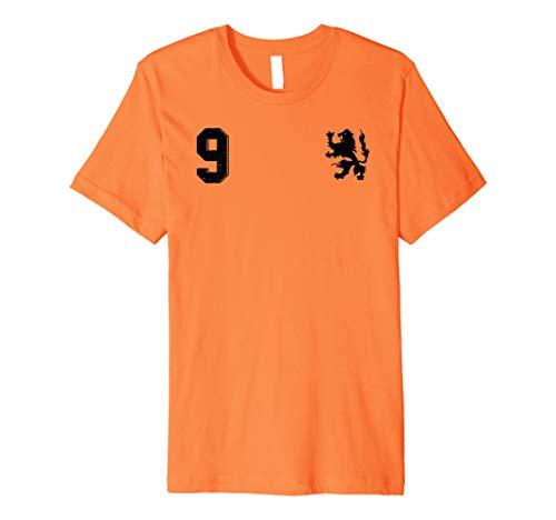 1e4472d9daf Retro Netherlands Soccer Jersey Nederland Football T-Shirt 9