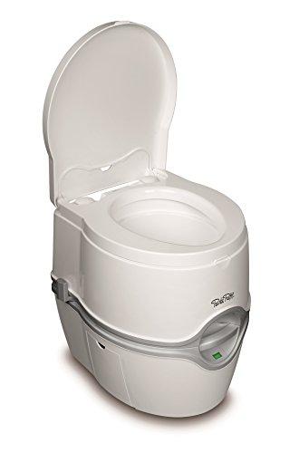 Thetford Excellence -  Inodoro portátil con cisterna y bomba electrica