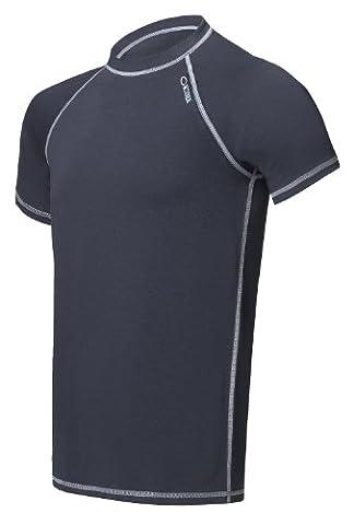 Gwinner Thermo-Funktionsunterwäsche Herren T-Shirt, Unterhemd perfect für Winter- und Skisport oder Outdoor, Classic V,