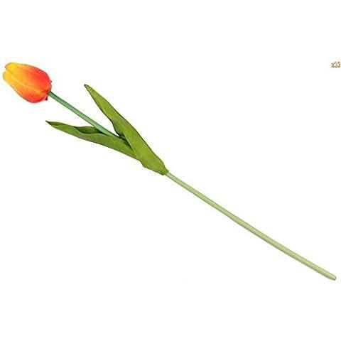 20pcs di simulazione del fiore del tulipano