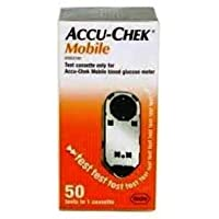 Preisvergleich für Accu-Chek Mobile Blood 50 Tests 1 Casette by Accu-Check