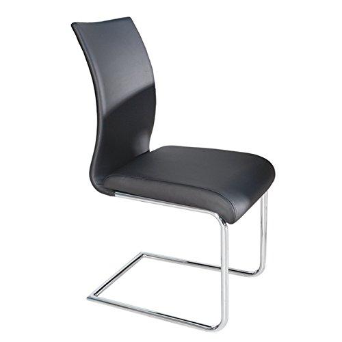 design-freischwinger-suave-schwarz