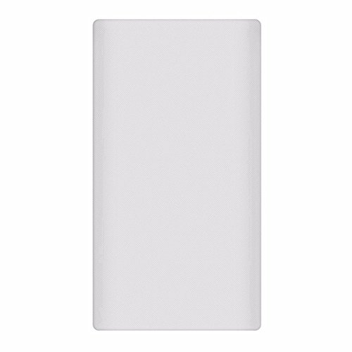 Heartly Strip Style Soft Silicone Pouch Protector Cover Case For 10000mAh Mi Power Bank 2 (Version 2) - Back White  available at amazon for Rs.299