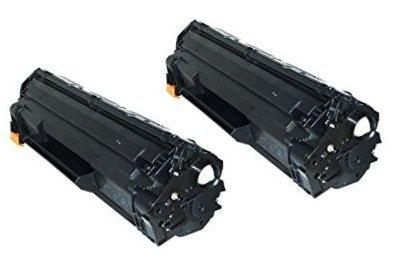 2 INK INSPIRATION® Premium Toner für HP Laserjet Pro P1102, P1102W, M1210,...