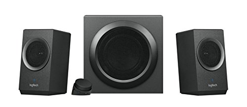 Logitech Z337 - Sistema de Altavoces Multimedia con Bluetooth, Color Negro