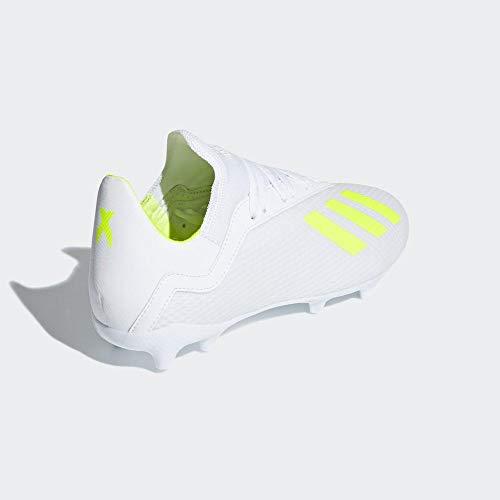 adidas Unisex-Kinder X 18.3 Fg J Fitnessschuhe, Mehrfarbig (Ftwbla/Amasol/Ftwbla 000), 38 2/3 EU