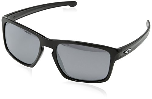 Oakley Sonnenbrille Sliver, Polished Black/Black Iridium, 57, OO9262-04