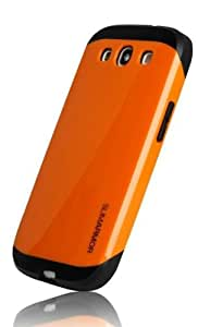 Samsung Galaxy S3 Slim Armor Orange Case Back Cover Case