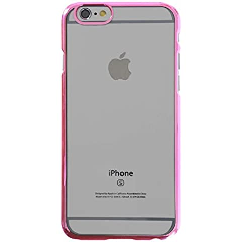 3Q Funda Apple iPhone 6 Funda iPhone 6S Carcasa Novedad Mayo 2016 Diseño Suizo Funda Transparente y Bumper