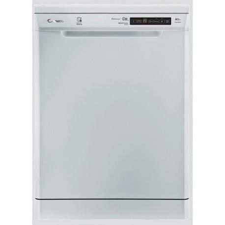 Candy CDPM 2DS62W-47 Autonome 16places A++ lave-vaisselle - Lave-vaisselles (Autonome, Blanc, Taille maximum (60 cm), Blanc, boutons, LED)