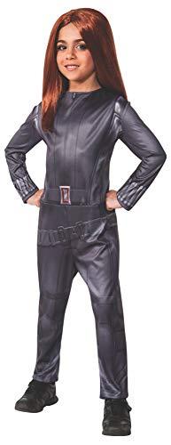 Kostüm Schwarze Witwe Captain America: The Winter Soldier Mädchen (Schwarze Witwe Mädchen Kostüme)