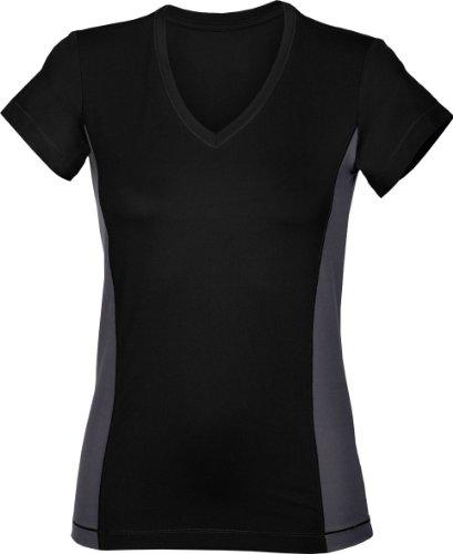 Hanes - T-shirt -  Femme Noir - Noir