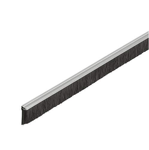 Gedotec Bürstendichtung Streifenbürste Türbürste Türdichtung für Türen zum Einnuten | Länge:...